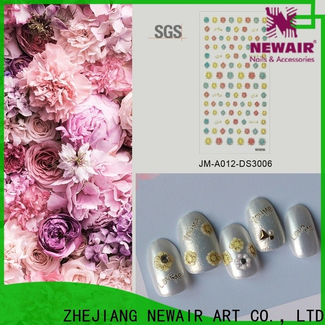 Newair Fake Nails luxury star nail stickers design for girl