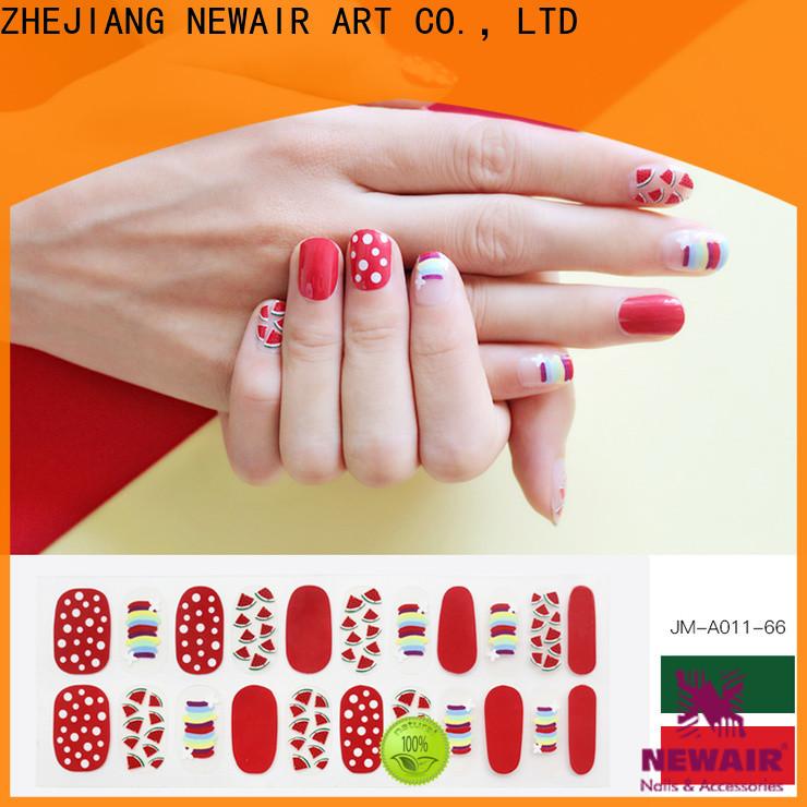 Newair Fake Nails nail striping tape supplier for women