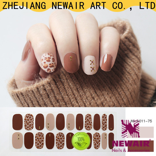 Newair Fake Nails best nail polish strips wholesale for commercial