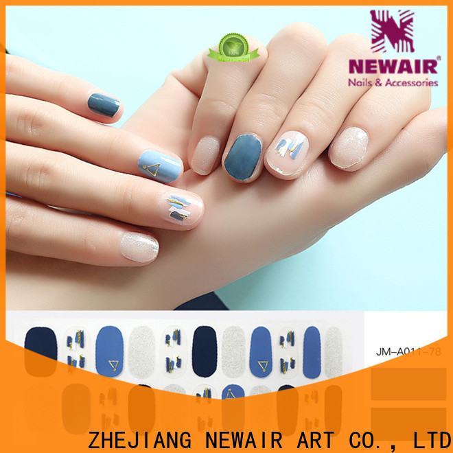 Newair Fake Nails fashion best nail polish strips personalized for commercial