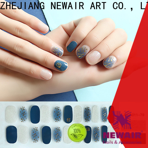 Newair Fake Nails square best nail strips factory price for gifts