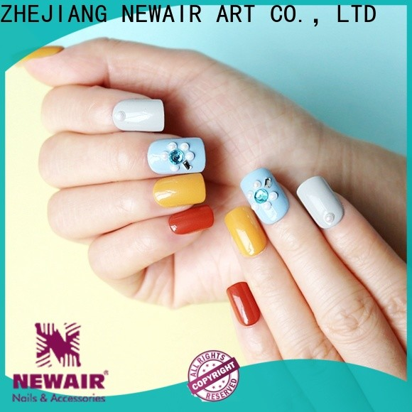 Newair Fake Nails designer press on nails from China for girls