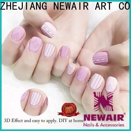 Newair Fake Nails nail stickers amazon factory for girl