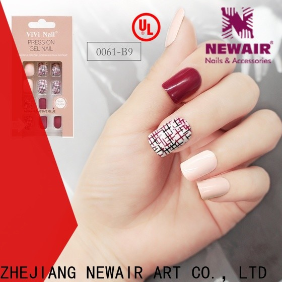 Newair Fake Nails gel artificial nails series for lady