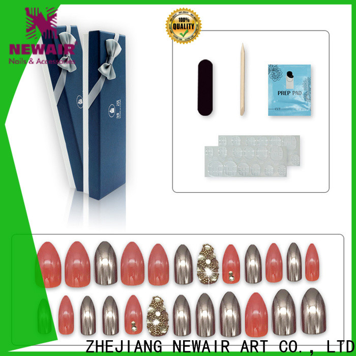 big etsy press on nails customized for wedding