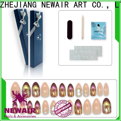 Newair Fake Nails natural best fake nails series for bride