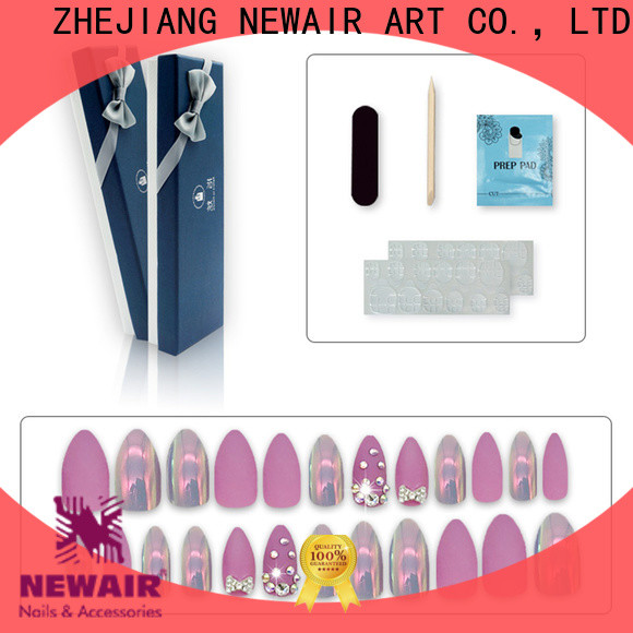 Newair Fake Nails soft press on nails manufacturer for lady