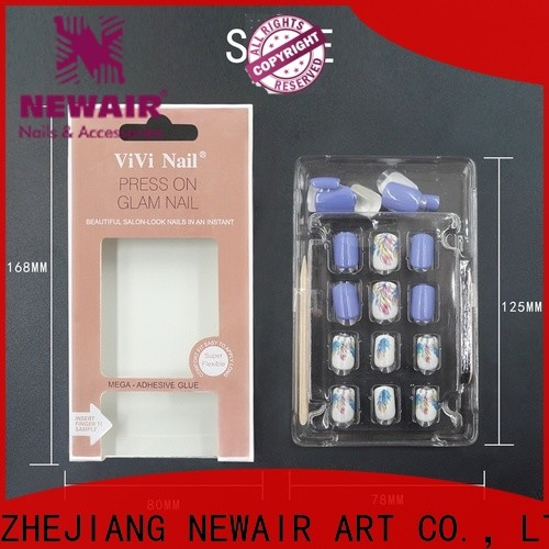 Newair Fake Nails flexible fake nails directly sale for girls