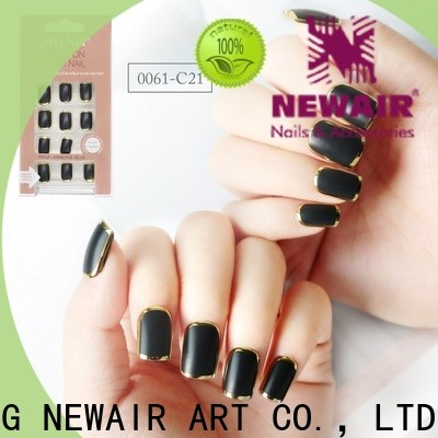 women flexible fake nails from China for wedding