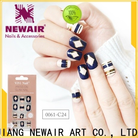 Newair Fake Nails gel long fake nails from China for bride