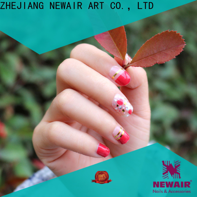 Newair Fake Nails nail color strips personalized for commercial