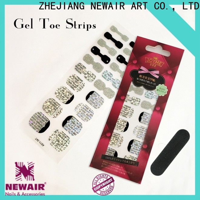 Newair Fake Nails nail color strips wholesale for gifts