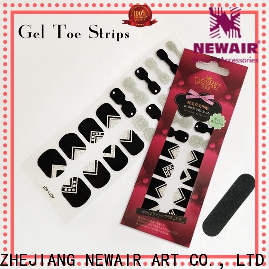 shiny walmart nail strips wholesale for gifts