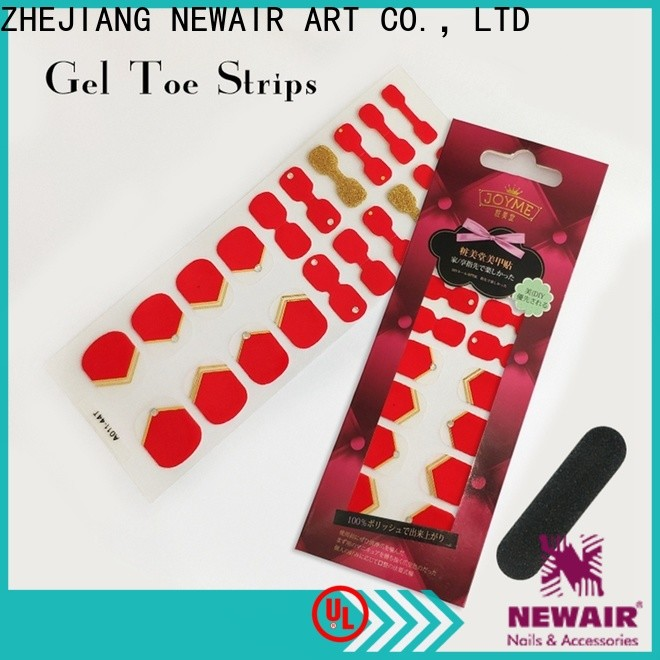 Newair Fake Nails colour incoco nail polish strips personalized for girl