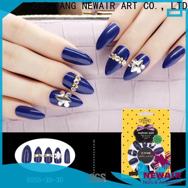 Newair Fake Nails square false nails factory price for girls