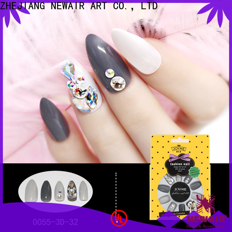 Newair Fake Nails square false nails full cover supplier for girls