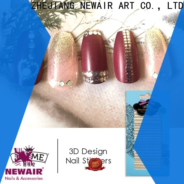 promotional fingernail decals stickers with good price for women