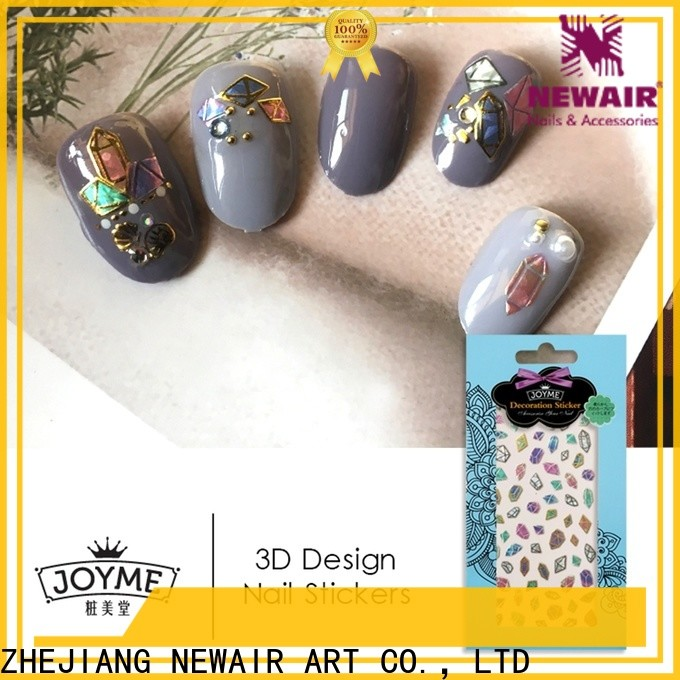 Newair Fake Nails cute fingernail decals stickers factory for ladies