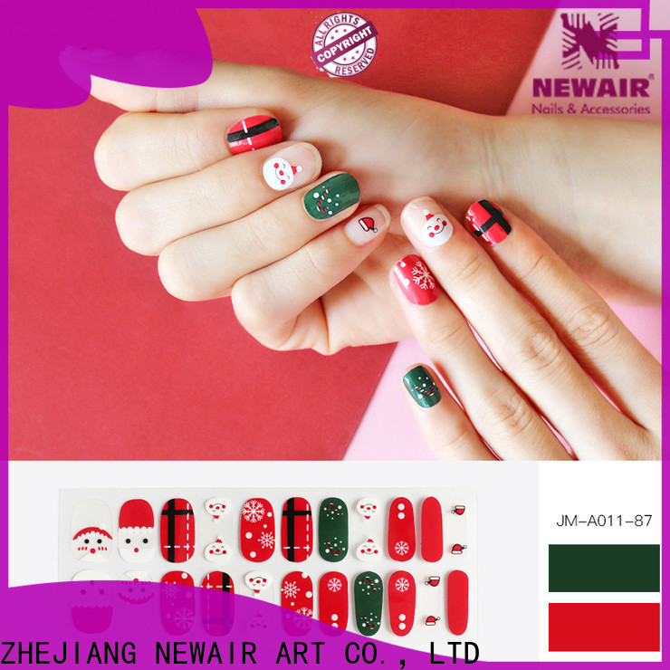 Newair Fake Nails square essie nail strips wholesale for commercial