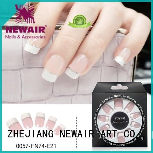 Newair Fake Nails lee press on nails from China for girls