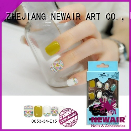 Newair Fake Nails artificial nails personalized for girl