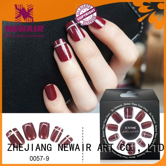 Newair Fake Nails nai artificial fingernails directly sale for wedding