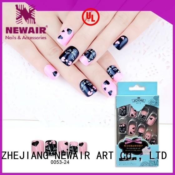 polish strips nails