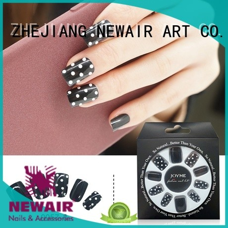 Newair Fake Nails interlaced best press on nails directly sale for wedding