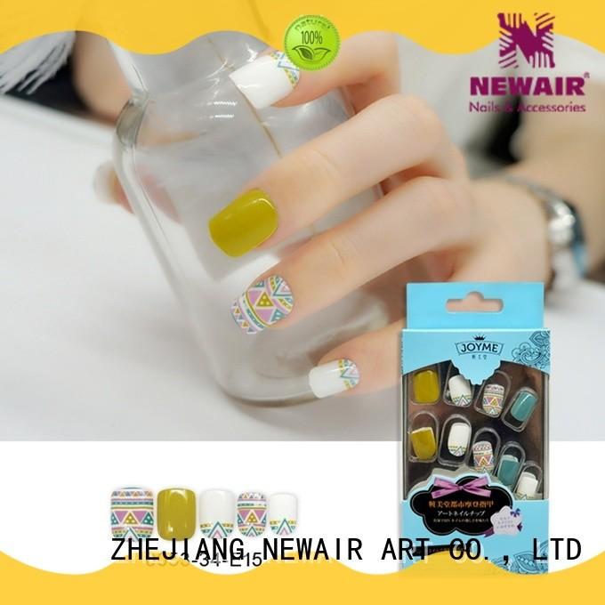elegant fake nails manufacturer for decorations
