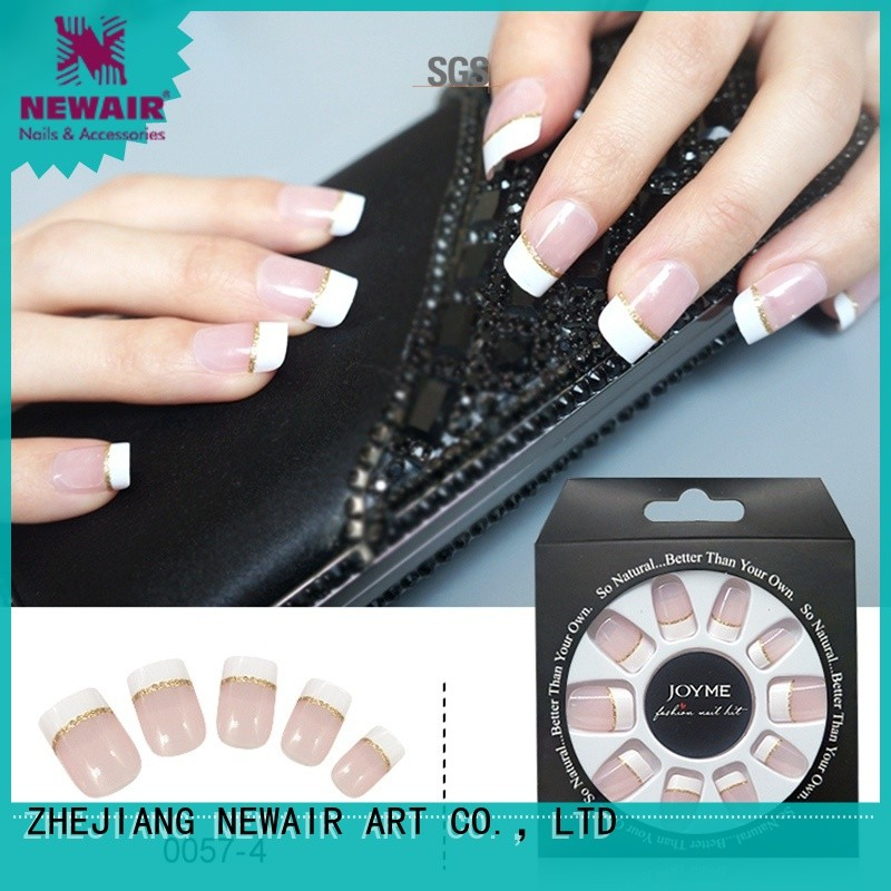 convenient fake nails customized for decorations