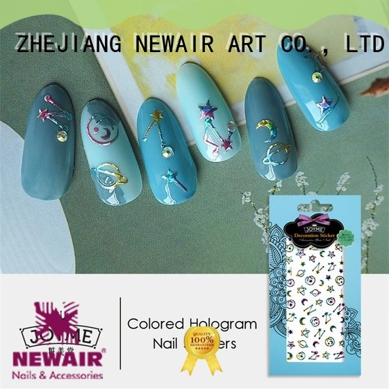 Newair Fake Nails flower nail stickers directly sale for women