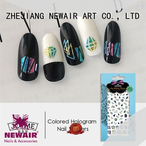 Newair Fake Nails self adhesive nail stickers series for girl