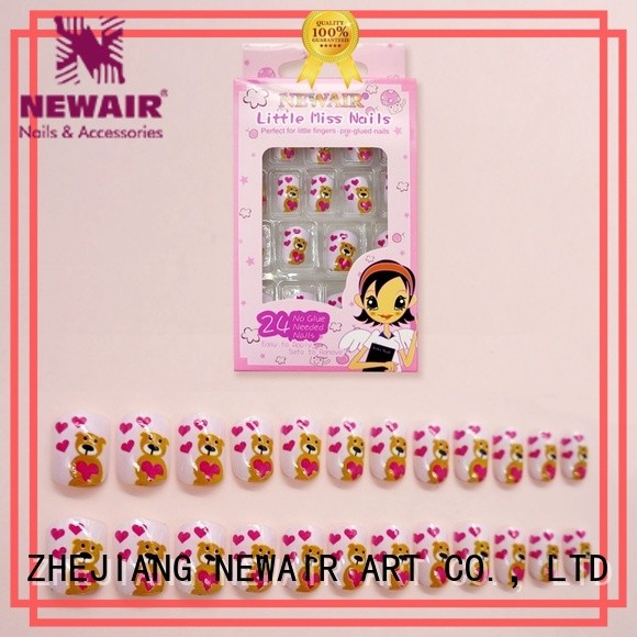 Newair Fake Nails reusable press on nails directly sale for bride