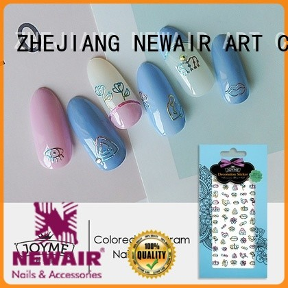 Newair Fake Nails pink nail decals from China for women