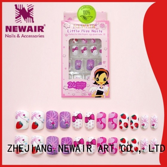 Newair Fake Nails decorated artificial fingernails from China for wedding