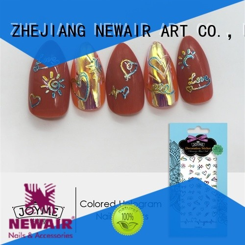 nail art letter stickers