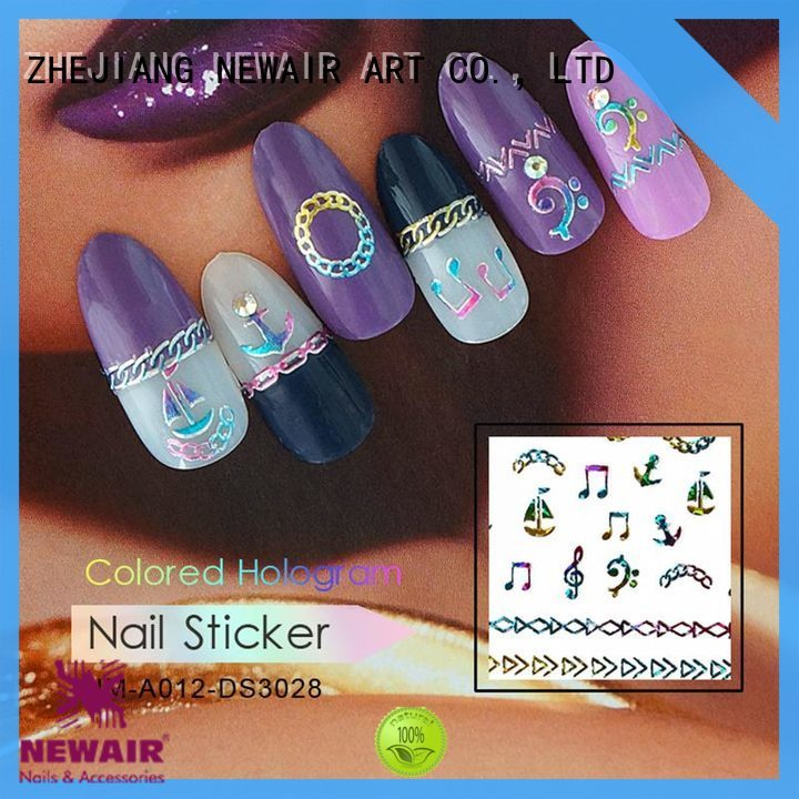 shinny nail art decoration series for women