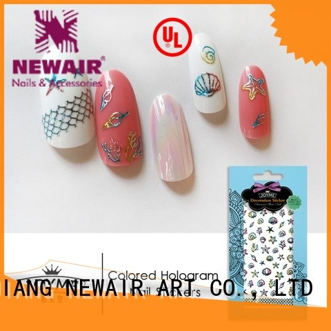 silver disney nail stickers series for commercial
