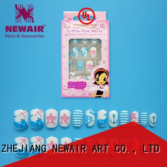 Newair Fake Nails long artificial nails manufacturer for girls